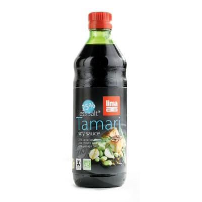 Lima Tamari 25% Minder Zout 250ml