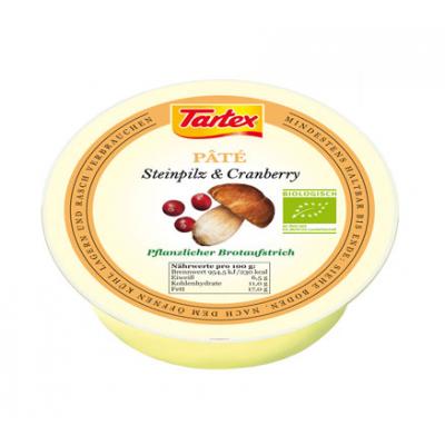 Tartex Pate Eekhoorntjesbrood & Cranberries