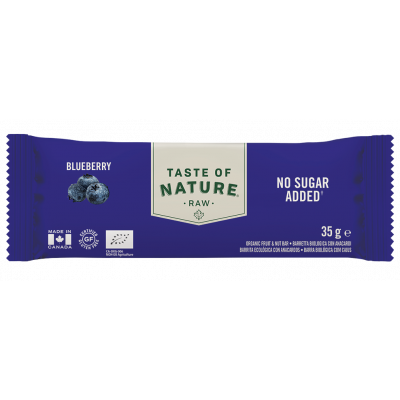 Taste of Nature Blueberry Raw