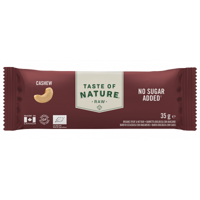 Taste of Nature Cashew Raw