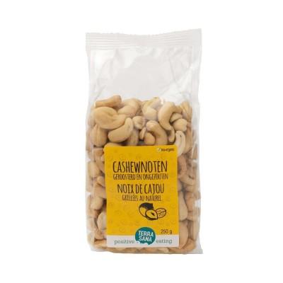 Terrasana Cashewnoten Geroosterd & Ongezouten 250 gram