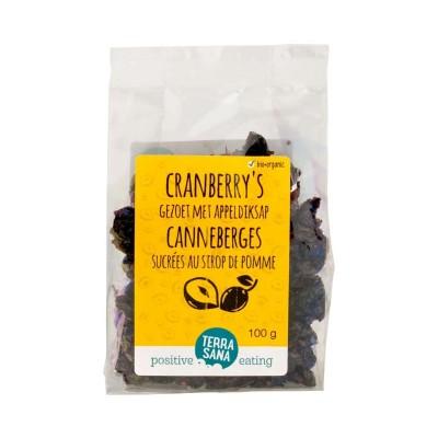 Terrasana Cranberry's Gezoet Met Appeldiksap