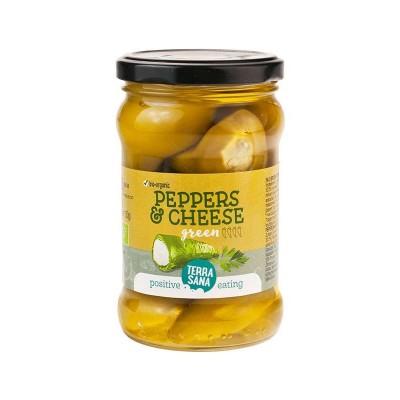 Terrasana Groene Pepers Roomkaas