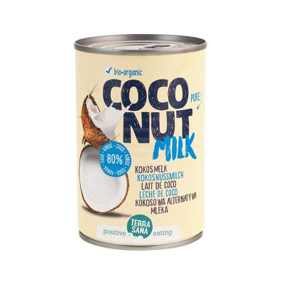 Terrasana Kokosmelk Puur 400 ml