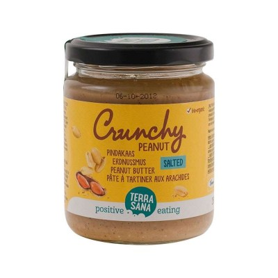 Terrasana Pindakaas Crunchy Met Himalayazout