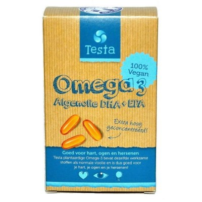 Testa Omega-3 Algenolie DHA + EPA