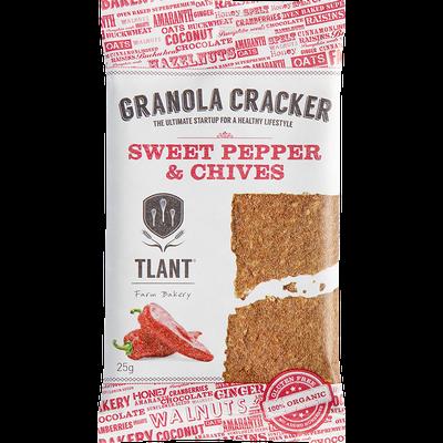 TLANT Granola Cracker Paprika & Bieslook