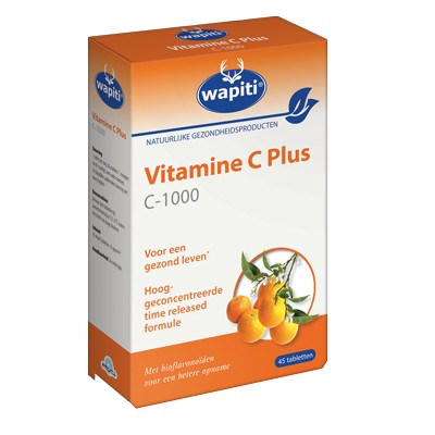 Wapiti Vitamine C Plus