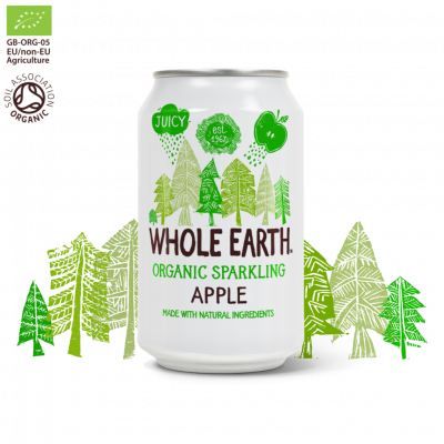 Whole Earth Frisdrank Appel