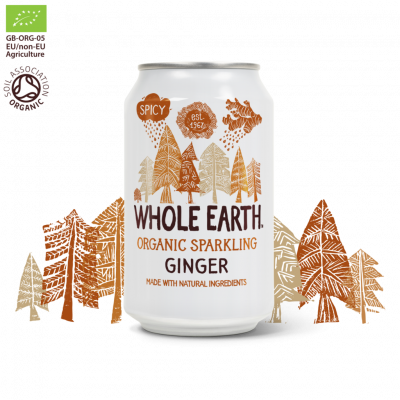 Whole Earth Frisdrank Ginger