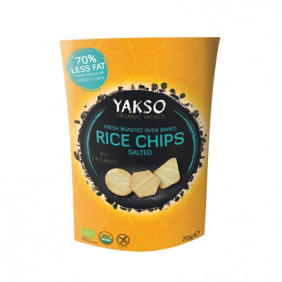 Yakso Rijst Chips Gezouten