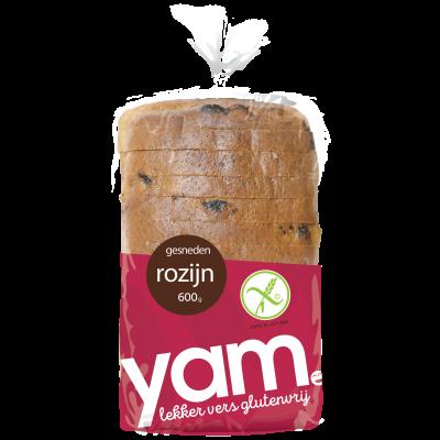 Yam Rozijnen Brood