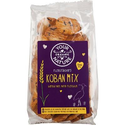 Your Organic Nature Rijstcrackers Koban Mix