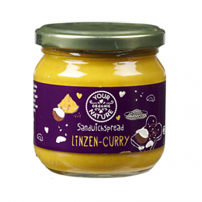 Your Organic Nature Linzen Curry Sandwichspread