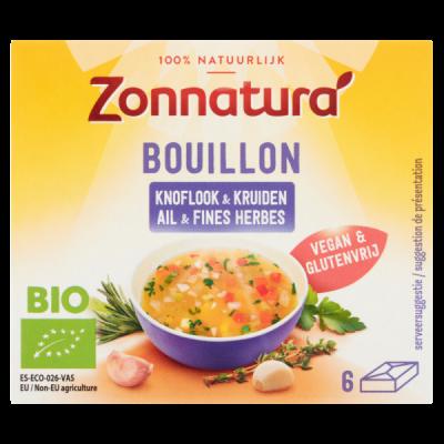 Zonnatura Bouillon Knoflook & Kruiden