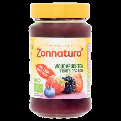 Zonnatura Fruitspread 75% Woudvruchten