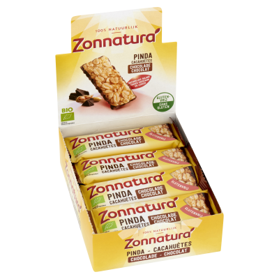 Zonnatura Pinda Chocolade Reep Single
