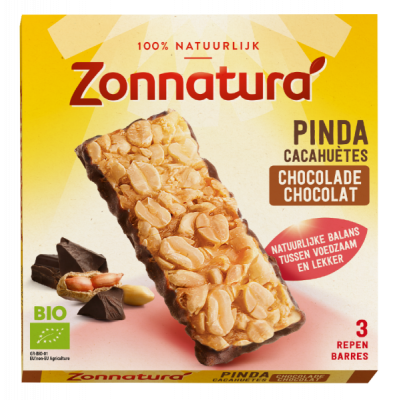 Zonnatura Pinda Chocolade Repen