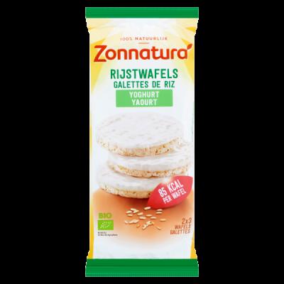 Zonnatura Rijstwafels Yoghurt