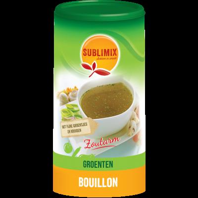 Sublimix Groentebouillon Zoutarm 260 gram