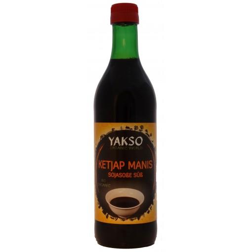 Ketjap Manis 500 ml van Yakso