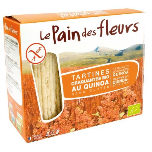 Quinoa Crackers van Le Pain des Fleurs