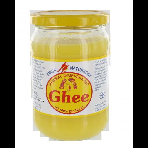 Ghee 480 gram van Finck Naturkost