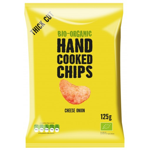Handcooked Chips Cheese Onion van Trafo