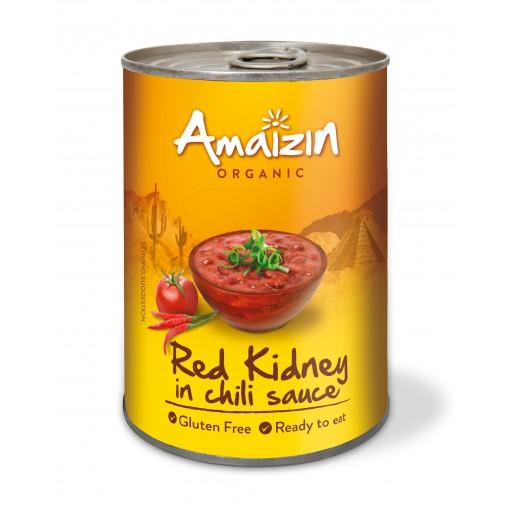 Rode Kidney Bonen In Chili Saus van Amaizin