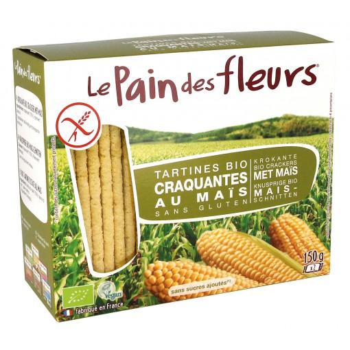Mais Crackers van Le Pain des Fleurs
