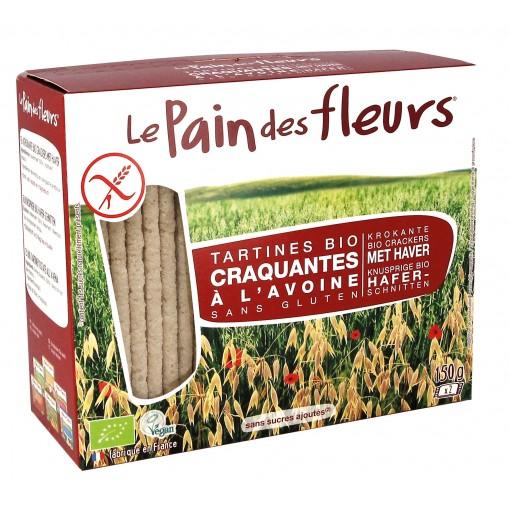 Haver Crackers van Le Pain des Fleurs