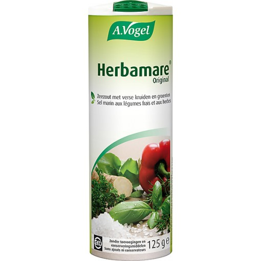 Herbamare Kruidenzout 125 gram van A. Vogel