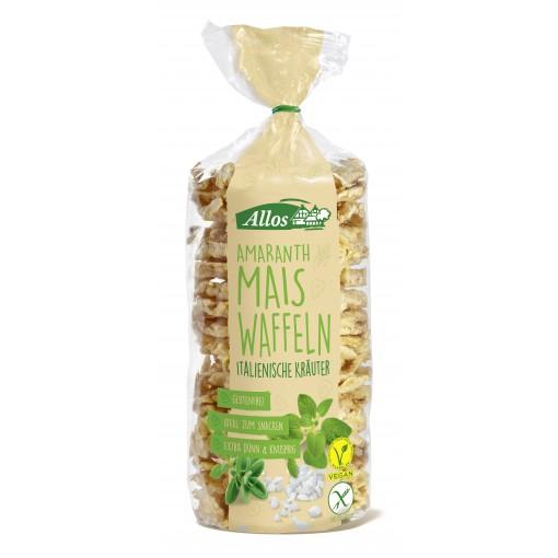 Amarant Mais Wafels Italiaanse Kruiden van Allos