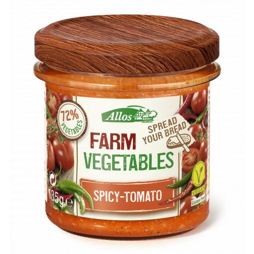 Groentespread Spicy Tomaat van Allos