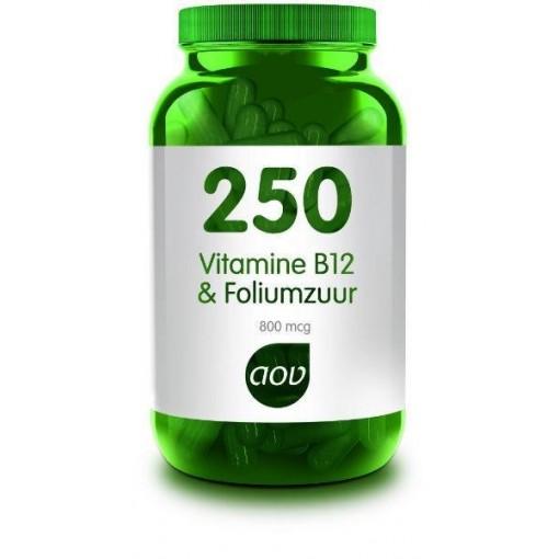 250 Vitamine B12 & Foliumzuur van AOV
