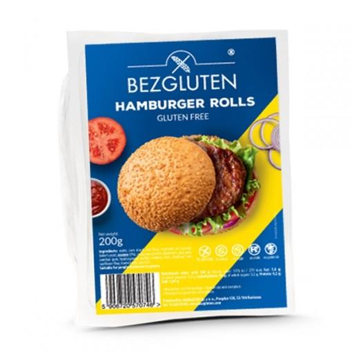 Hamburgerbroodjes van Bezgluten