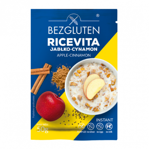 Instant Ontbijtpap Appel Kaneel van Bezgluten