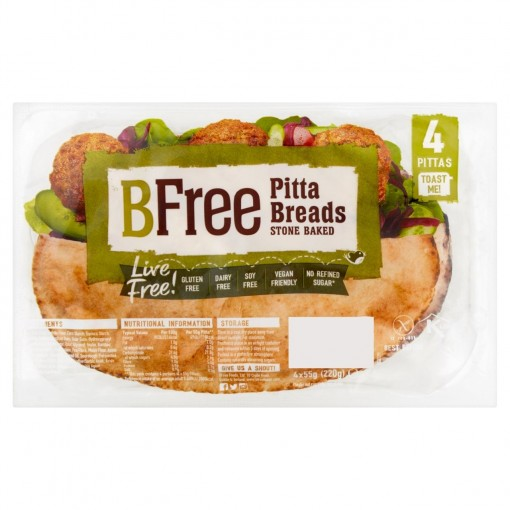 Pitabroodjes (4 stuks) van BFree