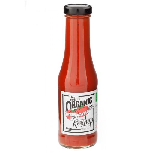 Ketchup Suikervrij van Bio Bandits