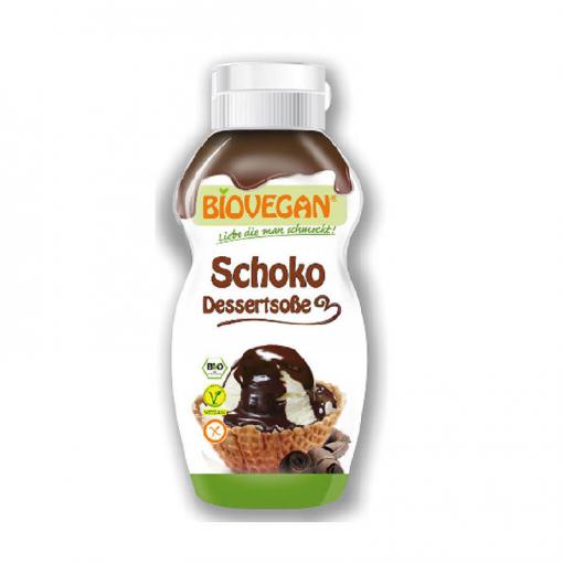 Dessertsaus Chocolade van Bio Vegan