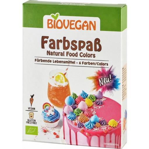 Kleurenpret van Bio Vegan