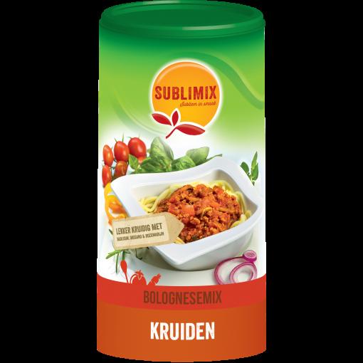 Bolognese mix 250 gram van Sublimix