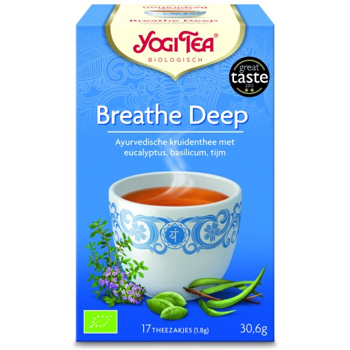 Breathe Deep van Yogi Tea