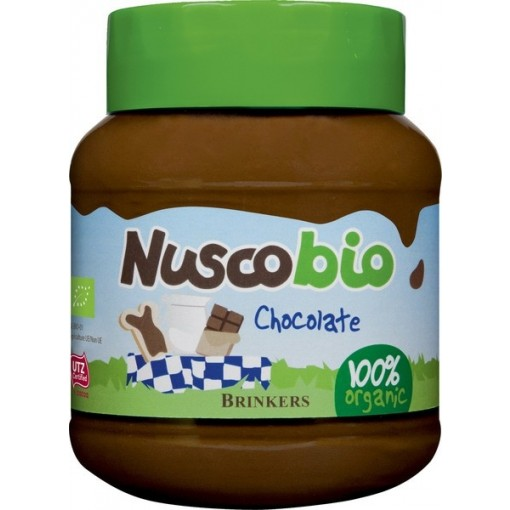 Nuscobio Melkchocoladepasta van Brinkers