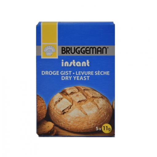 Instant Droge Gist 55 gram (zakjes) van Bruggeman