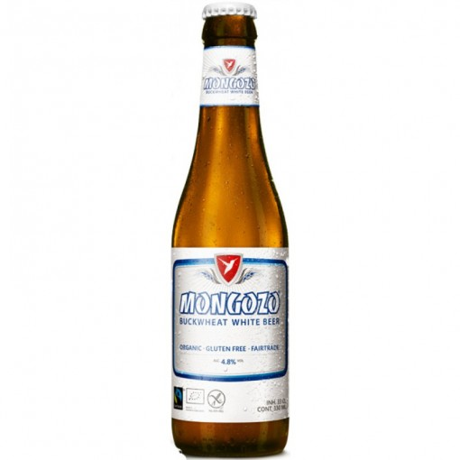 Buckwheat White Bier van Mongozo
