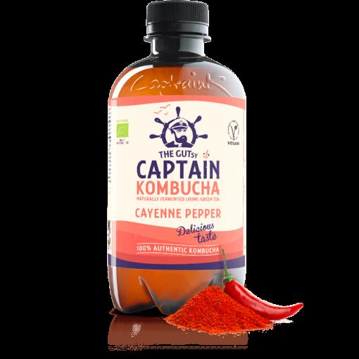 Kombucha Cayenne Pepper van Captain Kombucha