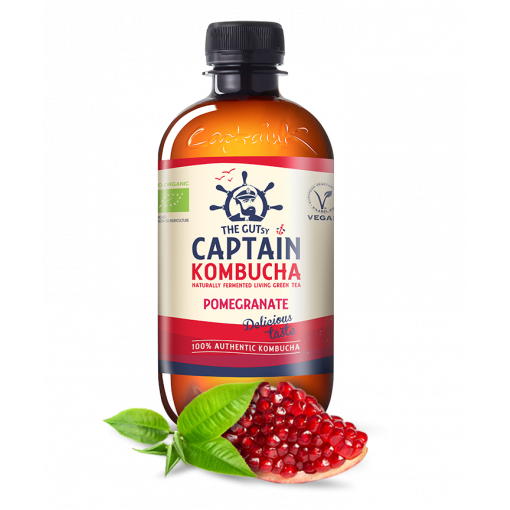 Kombucha Pomegranate van Captain Kombucha