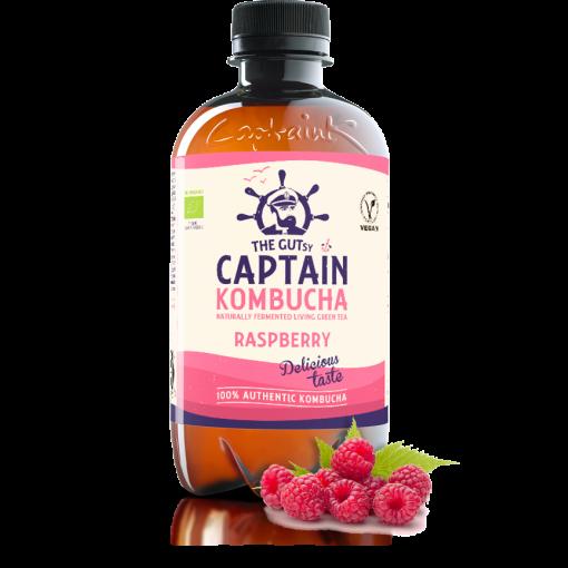 Kombucha Raspberry van Captain Kombucha