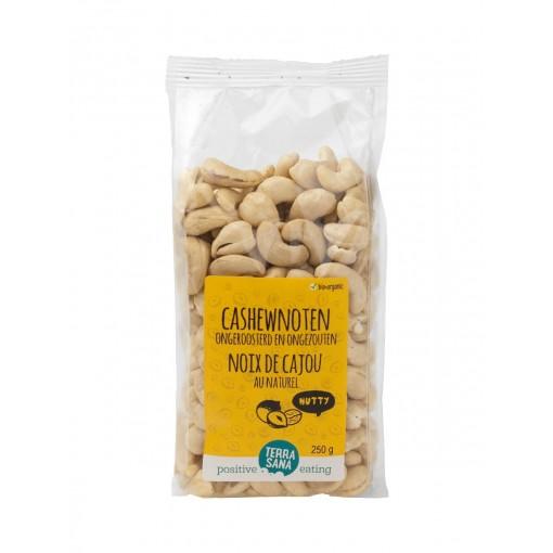 Cashewnoten Ongeroosterd & Ongezouten 250 gram van Terrasana